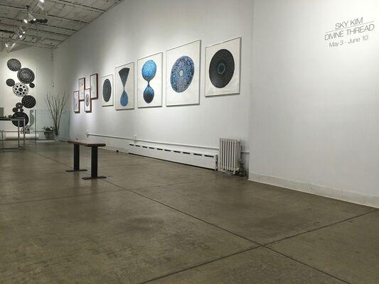 Sky Kim: Divine Thread, installation view