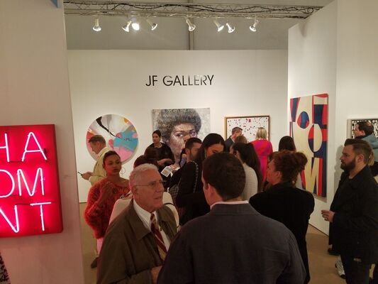 JF Gallery at Palm Beach Modern + Contemporary 2020, installation view