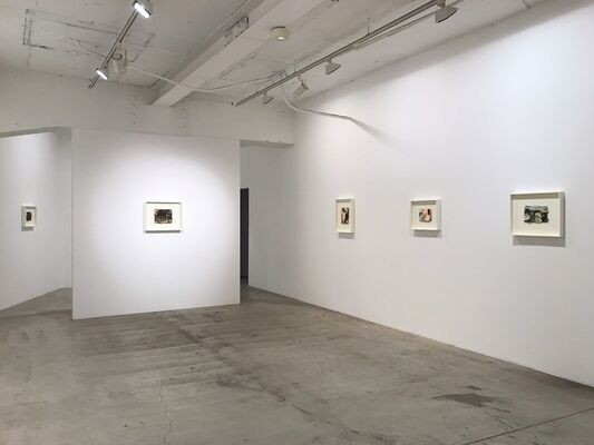 """Michael Toenges, """"Paintings on Paper 1995-2019"""", installation view"""