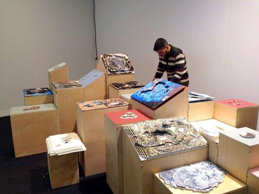 SIM Galeria at VOLTA NY 2015, installation view