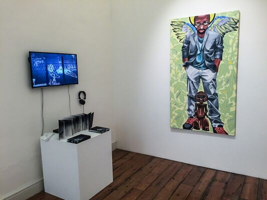 Circle Art Agency at 1:54 Contemporary African Art Fair London 2016, installation view