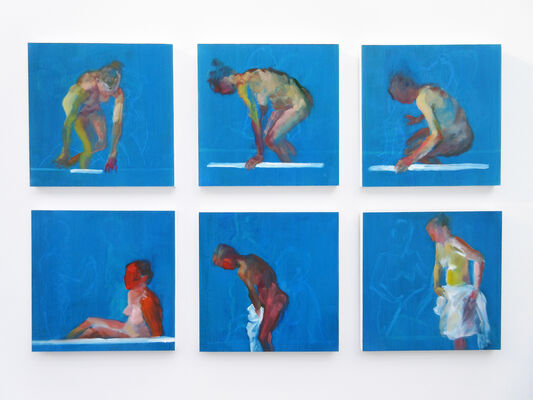 Andrea Geller: Bath Series, installation view