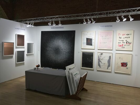Highpoint Editions at The Editions/Artists' Books (E/AB) Fair 2016, installation view