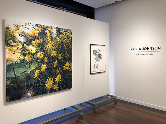 Krista Johnson: The Places Between, installation view