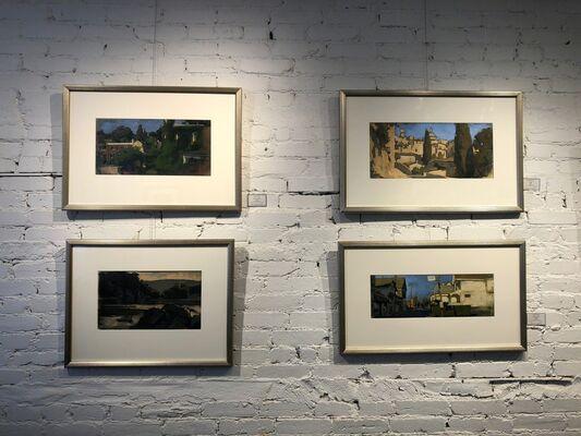 Carlton Fletcher, installation view