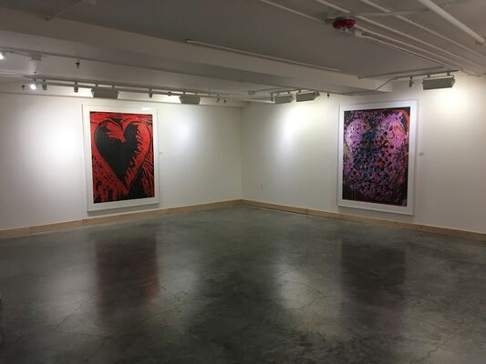 Jim Dine: Prints, installation view