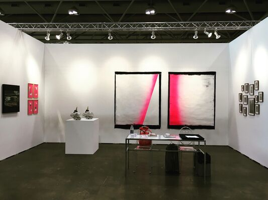Ginsberg Galería at Art Toronto 2016, installation view