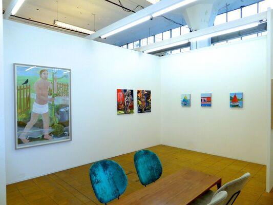 Flatland Gallery at Art Rotterdam 2017, installation view