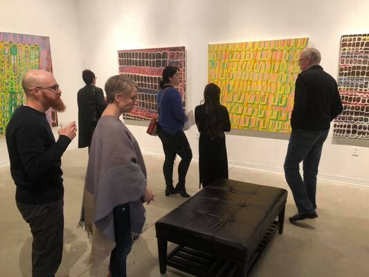 Martha T. Jones: New Abstract Paintings 2017-2019, installation view