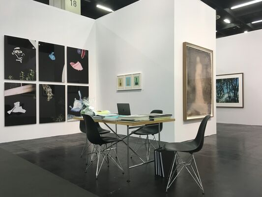 Galerie Wilma Tolksdorf at Art Cologne 2017, installation view