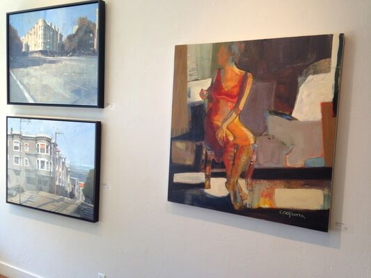 Studio Shop Gallery at Art Market San Francisco 2019, installation view