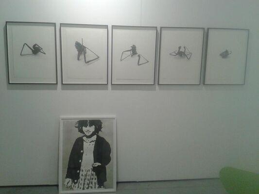 Heike Curtze und Petra Seiser at viennacontemporary 2016, installation view