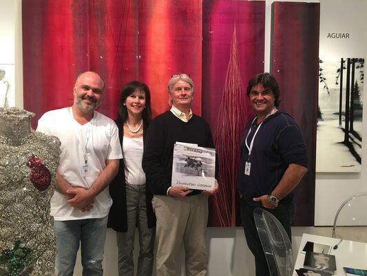 Silver Lining Fine Arts at Art Wynwood 2016, installation view