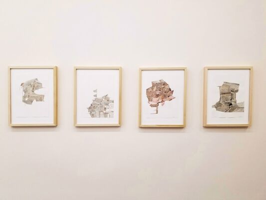 Deeper Than the Wall, installation view