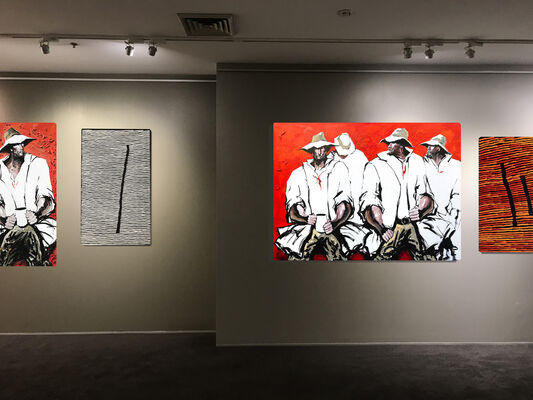 Fire Country, installation view