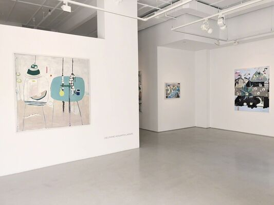 Delphine Hogarth Lafaye, installation view