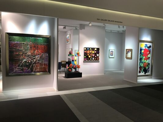 Gallery Delaive at TEFAF Maastricht 2018, installation view