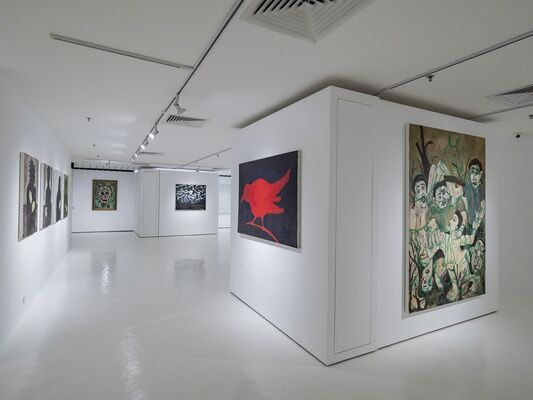 Passing – A Solo Exhibition of Vincent Leow's Works, installation view