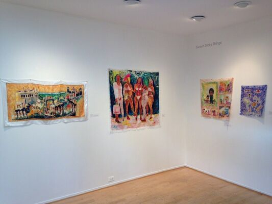 Sweet Sticky Things : Lili Bernard, Zeal Harris, Loren Holland, installation view