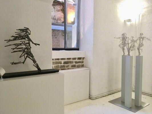 LIVING IN BETWEEN DIMENSIONS Stefanie Welk / Katharina Lehmann, installation view