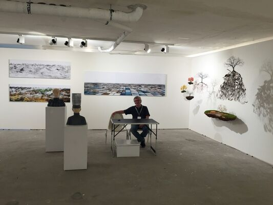 Python Gallery at SCOPE Basel 2018, installation view