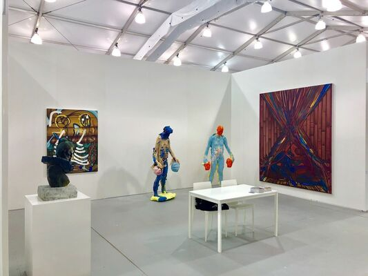 DENK Gallery at UNTITLED Miami Beach 2018, installation view