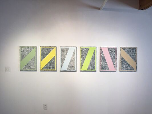 Angles and Planes, installation view