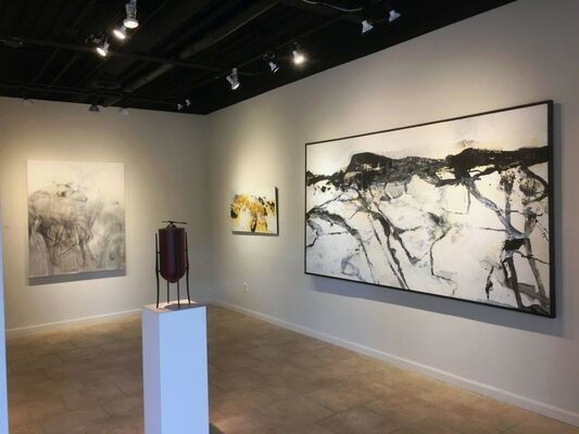 Chris Dolan: The Landscape of a Recurring Dream  Helen Durant: Evolving Paintings, installation view