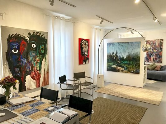 AC1: African Contemporary 1, installation view