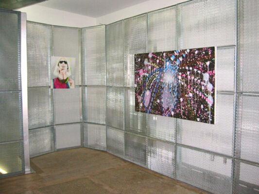 """Katherine Bernhardt - """"Dots"""", installation view"""