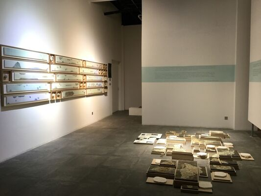 """""""I will be your eyes"""" Group Exhibition, installation view"""