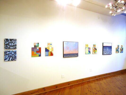 Beyond Time and Place: Michael Smith and Karen Stabenow, installation view