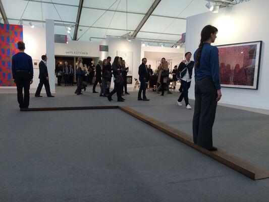 Galerie Jocelyn Wolff at Frieze London 2014, installation view