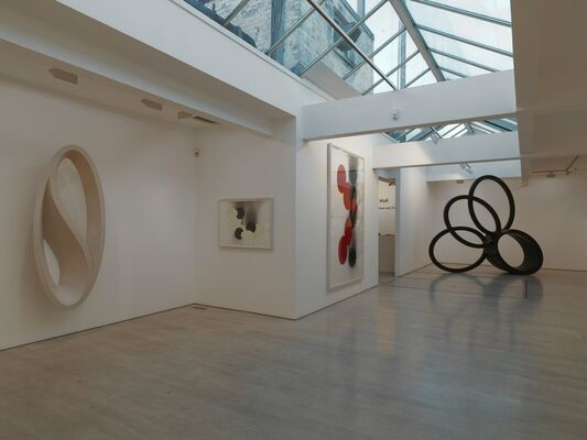 Nigel Hall, Here and Now, There and Then, installation view