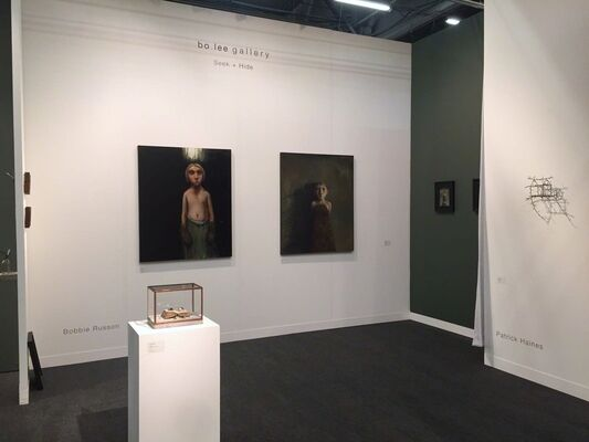 bo.lee gallery at CONTEXT New York 2017, installation view