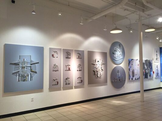 Small Monuments, installation view