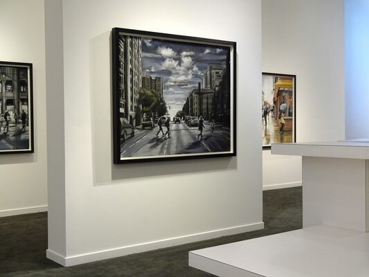 Urban Light: New Drawings by Susan Grossman, installation view