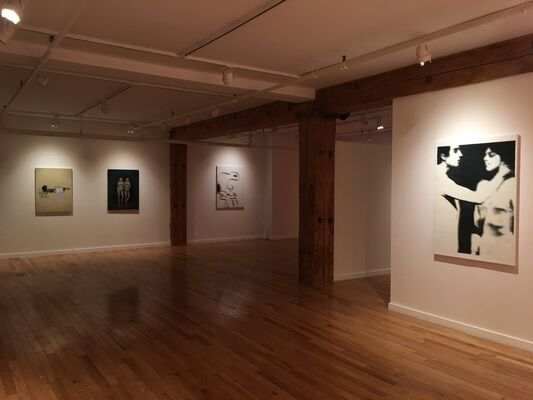 Finally, installation view