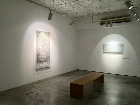 Paper Works: Reflection – Structures, installation view