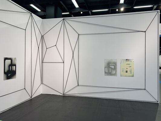 Charim Galerie at Art Cologne 2019, installation view