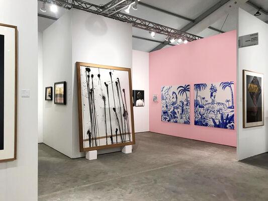 Alzueta Gallery at Art Miami 2019, installation view