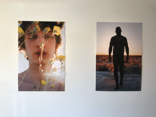 JACK PIERSON - SOME OLD HOMO, installation view