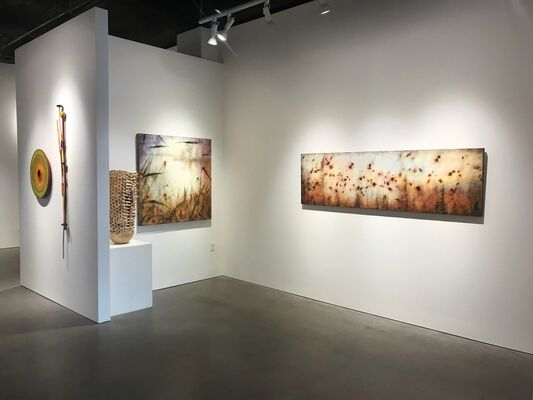 "Joyce Gehl ""Softly Falling"", installation view"