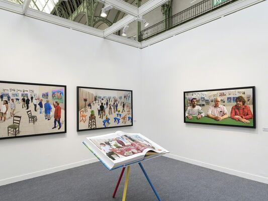 Galerie Lelong at Paris Photo 2016, installation view