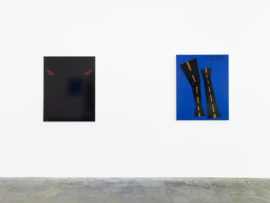 Andy Hope 1930 - Black Fat Fury Road, installation view