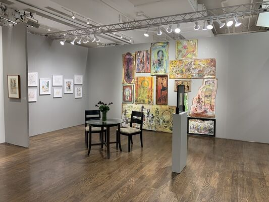 Hirschl & Adler at Outsider Art Fair 2020, installation view