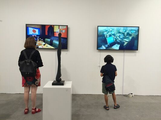 Imura Art Gallery at Art Stage Singapore 2016, installation view