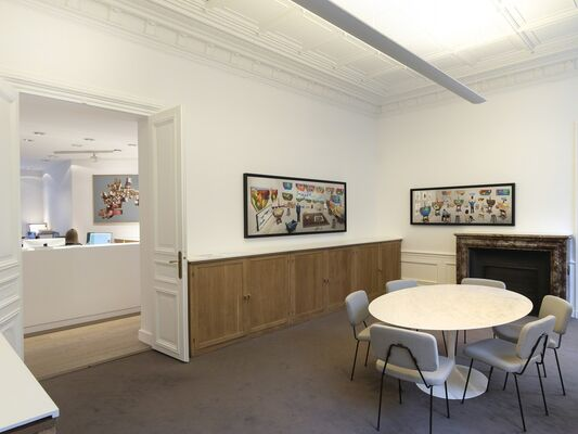 New Photographic Drawings, installation view