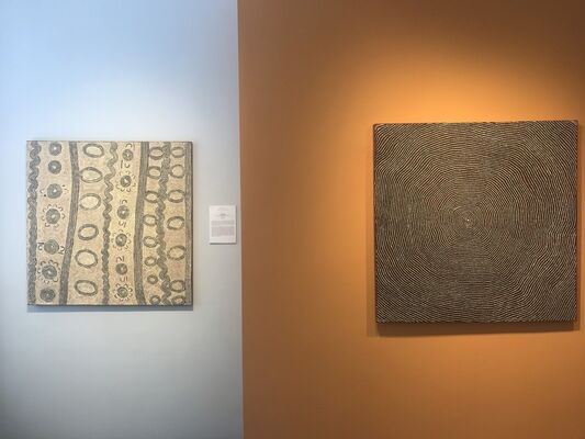 Songlines XXIX: Desert Country, installation view