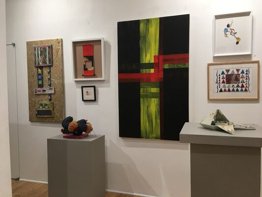 Viridian's 30th Annual International Juried Exhibition: Part 1 Juried by Vernita Nemec, Director of Viridian Artists & Independent Curator, installation view